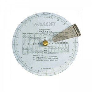 Office / Driver Hand Held Tachograph Disc Checker