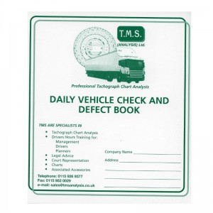 Daily Vehicle Check Defect Book
